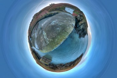 Photospherical Installation at Porthgain 6th & 7th March.