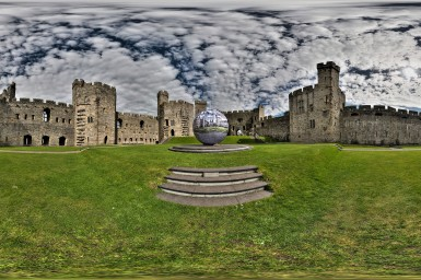 Caernarfon Photospheres First Installation